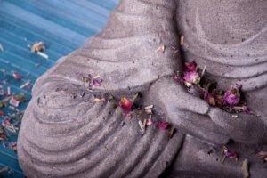 Buddha Symbol der Medition und Stille