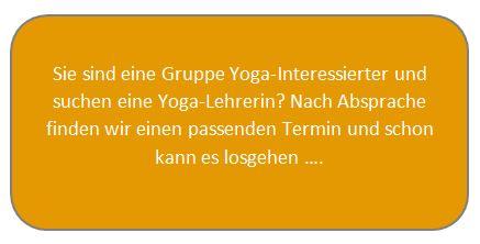 Yoga-Gruppen